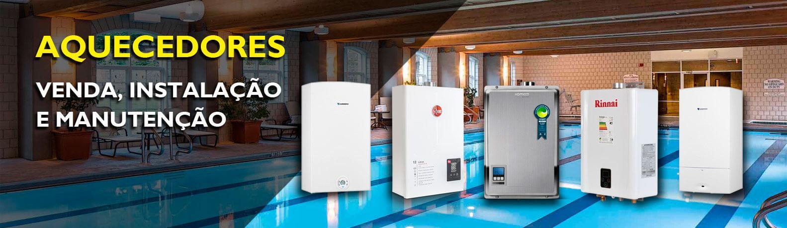 aquecedores venda, instalação e manutenção em SP