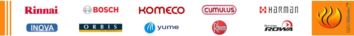 conserto de aquecedores a gas multimarcas em sp - rowa - rinnai - bosch - komeco - harman - orbis - yume - rheem