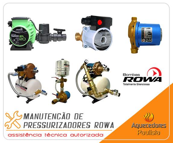 Manutenção de Pressurizadores Rowa