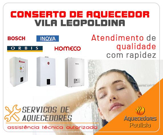 Conserto de Aquecedor Vila Leopoldina