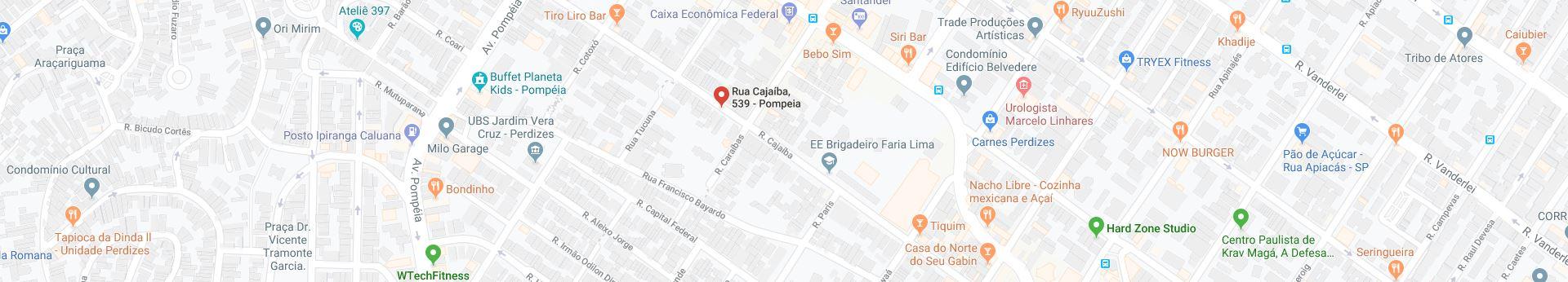 R. Cajaíba, 539 - Pompeia, São Paulo - SP, 05025-000