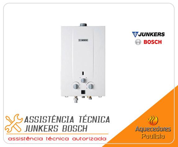 Assistência Técnica Junkers Bosch