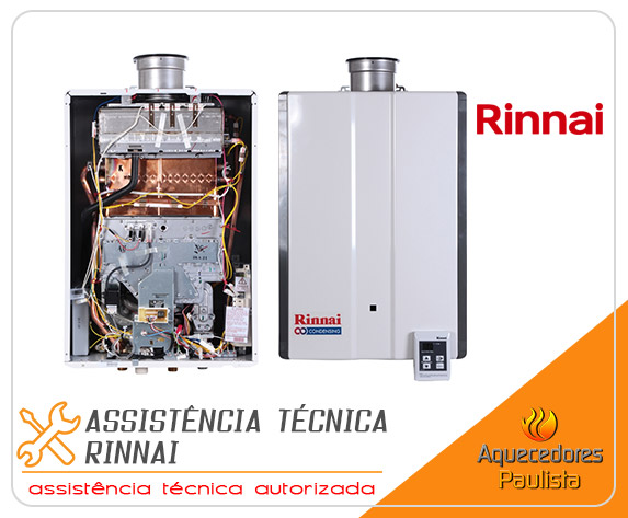 Assistência Técnica Rinnai